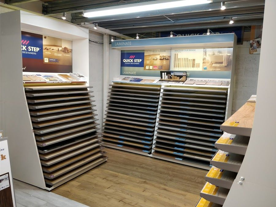 New Quick-Step displays & products to see in our showroom now